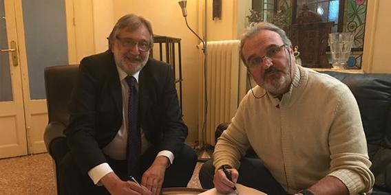 ADADE/E-consulting y SETRANSA firman un acuerdo de colaboración   Sala de prensa Grupo Asesor ADADE y E-Consulting Global Group