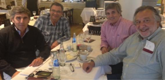 Reunión del presidente de ADADE con los delegados de Argentina y Uruguay en la ciudad de Buenos Aires | Sala de prensa Grupo Asesor ADADE y E-Consulting Global Group