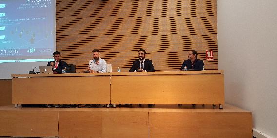 Gran asistencia en el I Encuentro Interempresarial organizado por Adade Almería   Sala de prensa Grupo Asesor ADADE y E-Consulting Global Group