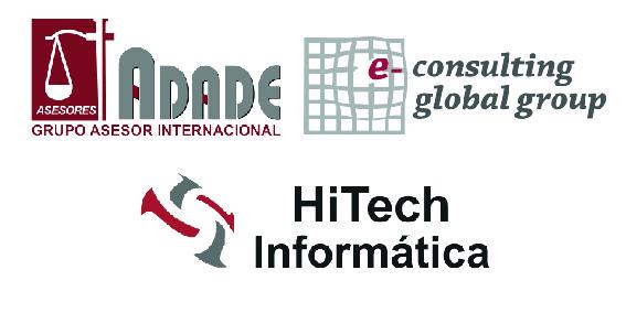 Acuerdo ADADE/E-CONSULTING Con HITECH INFORMÁTICA   Sala de prensa Grupo Asesor ADADE y E-Consulting Global Group