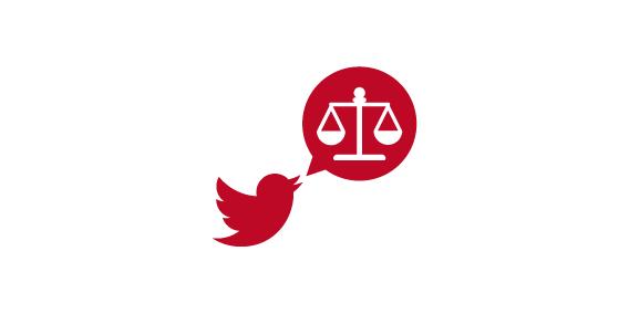 Justicia abre una cuenta en Twitter para atender a usuarios de LexNET