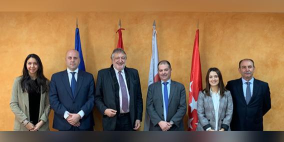 El Magfco. Rector de la Universidad Europea del Atlántico y el Presidente de la Fundación ADADE se reúnen en las instalaciones de ésta en Madrid | Sala de prensa Grupo Asesor ADADE y E-Consulting Global Group