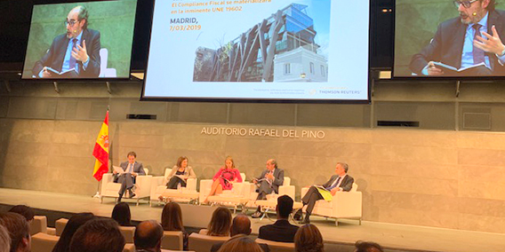ADADE/E-consulting participa en el Congreso Compliance Tributario de Thomson Reuters | Sala de prensa Grupo Asesor ADADE y E-Consulting Global Group