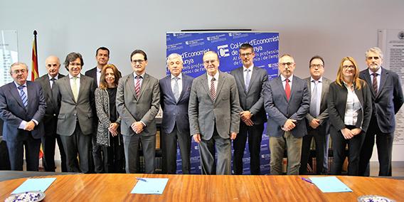 Jorge Luis García García, socio de ADADE AUDITORES ha sido nombrado miembro de la Comisión de Auditores de cuentas del Registro de Economistas de Cataluña.