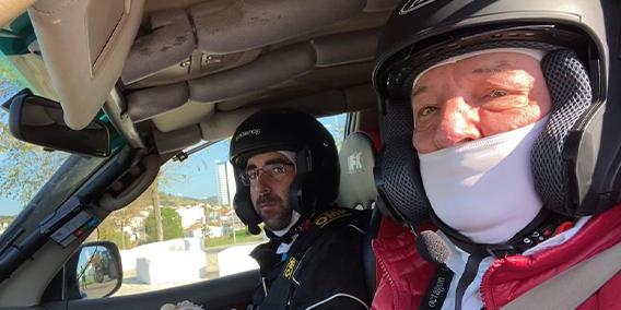 Nuestro compañero Elías del Val de ADADE BURGOS, segundo clasificado a la regularidad, en el Rally  Baja TT Dehesa Extremadura | Sala de prensa Grupo Asesor ADADE y E-Consulting Global Group
