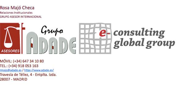 El Grupo Asesor ADADE firma Convenio de Colaboración Social con la Consejería de Economía y Hacienda de la Comunidad de Castilla y León, aumentando así los que ya tiene firmados con la mayoría de las Comunidades Autónomas | Sala de prensa Grupo Asesor ADADE y E-Consulting Global Group