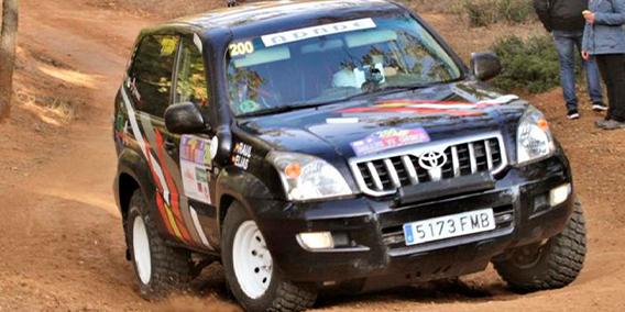 Nuestro compañero Elías del Val de ADADE BURGOS, primer clasificado a la regularidad, en el Rally todo terreno de Cuenca
