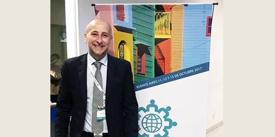 Guillermo Garcia miembro del Patronato de la FUNDACION ADADE participó como ponente en el IX Congreso Regional de las Américas Buenos Aires