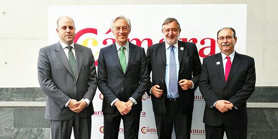 Reunión ADADE/E-Consulting – Director Internacional de Cámara España   Sala de prensa Grupo Asesor ADADE y E-Consulting Global Group