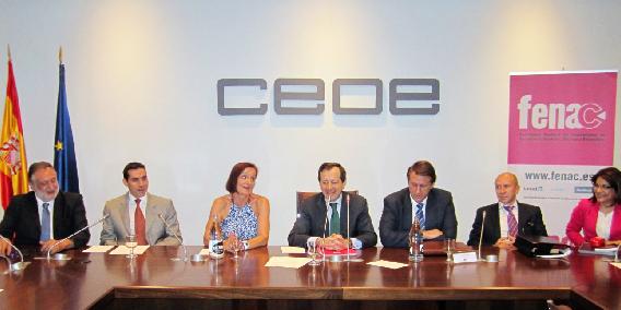 FENAC celebra una nueva Asamblea Electoral clausurada por Juan Rosell, Presidente de la CEOE, en la que se incorpora el Presidente de ADADE/E-CONSULTING en su Junta Directiva | Sala de prensa Grupo Asesor ADADE y E-Consulting Global Group