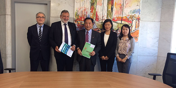 VISITA DE LA EMPRESA FARMACEUTICA CHINA GANSU MEHECO IMPORT & EXPORT CO. LTD.   A BARCELONA | Sala de prensa Grupo Asesor ADADE y E-Consulting Global Group